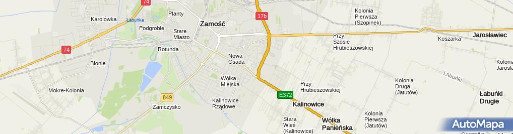 Zdjęcie satelitarne Stanisława Turczyn - Działalność Gospodarcza
