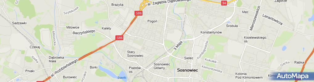 Zdjęcie satelitarne Stomico Pacewicz Grzegorz Kudła Alfreda