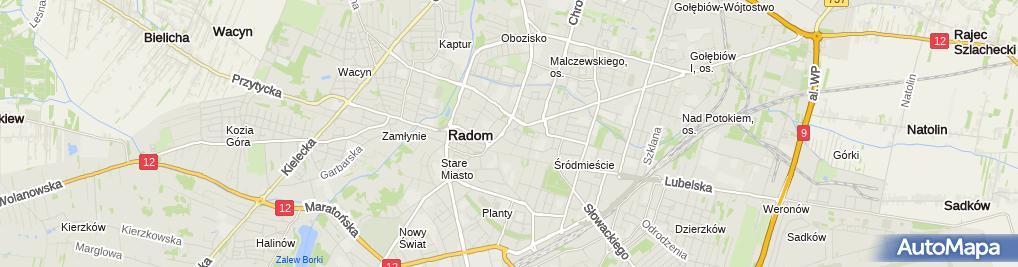 Zdjęcie satelitarne Stowarzyszenie Jednostek Samorządu Terytorialnego Na Rzecz Budowy Drogi Ekspresowej S 12