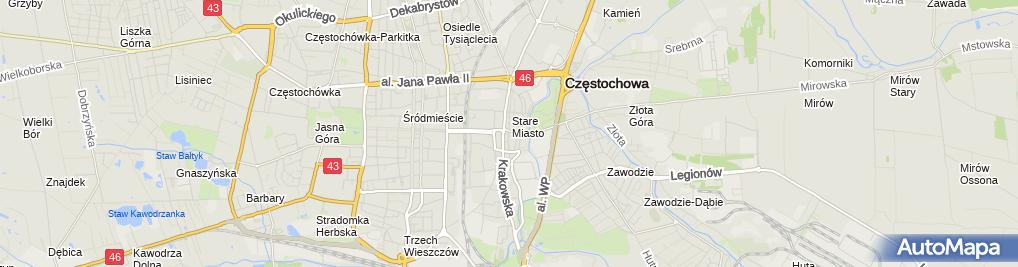 Zdjęcie satelitarne Stowarzyszenie Rodziców Rodzin Wielodzietnych