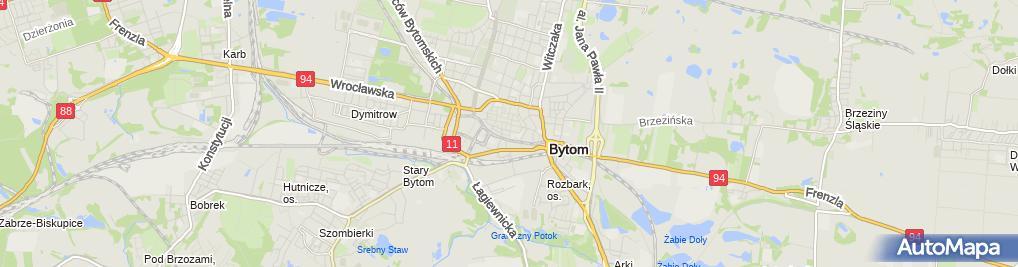 Zdjęcie satelitarne Stowarzyszenie Troski i Wsparcia Stiw