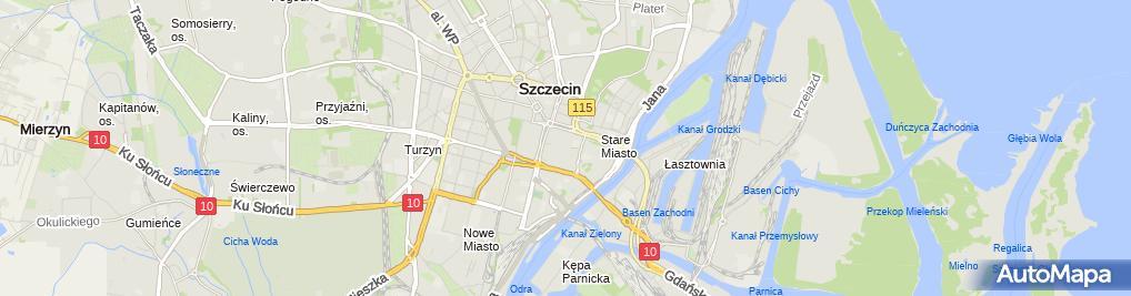 Zdjęcie satelitarne Stowarzyszenie Twórcze Artystów Rzeźbiarzy