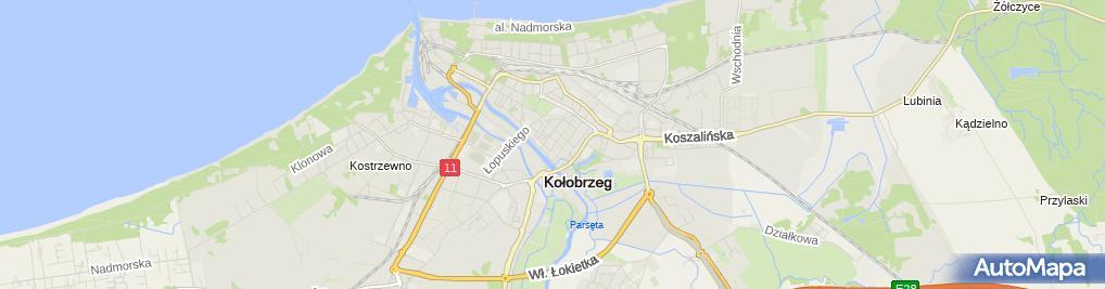 Zdjęcie satelitarne Studio Fryzur Urszula Sznitko Studio For YOU