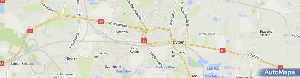 Zdjęcie satelitarne Studio Fryzur