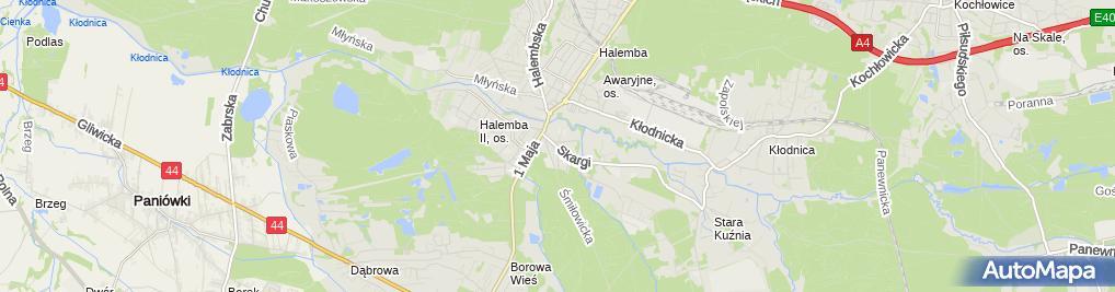 Zdjęcie satelitarne Studniarek Zdzisław Studniarek Adam Usługi Remont Budowl i Techn