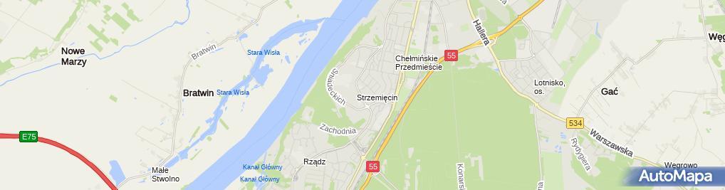 Zdjęcie satelitarne Sukces Lisiewicz Adam