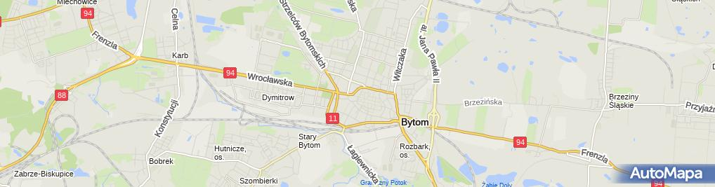 Zdjęcie satelitarne Super Okno Bytom Wojciech Smolczewski Adam Trefon