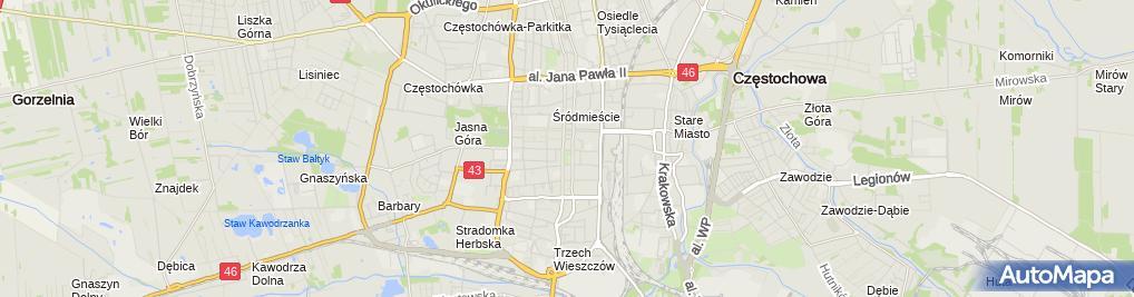 Zdjęcie satelitarne Sweet Home & Cafe