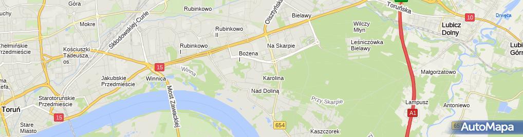 Zdjęcie satelitarne Świderek Lech Pollux przed.Biuro Projektowania i Realizacji Sieci i Inst.Elektrycz.