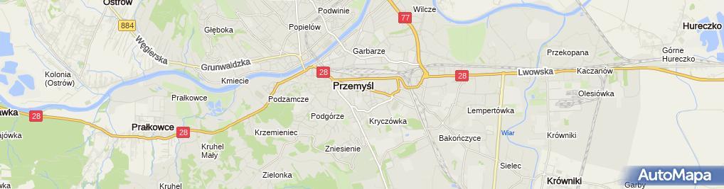 Zdjęcie satelitarne Sylbud Usługi Budowlane Dariusz Kiernozek