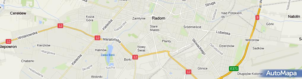 Zdjęcie satelitarne Sylwia Przedsiębiorstwo Wielobranżowe Sylwia Stanisławska Łoboda