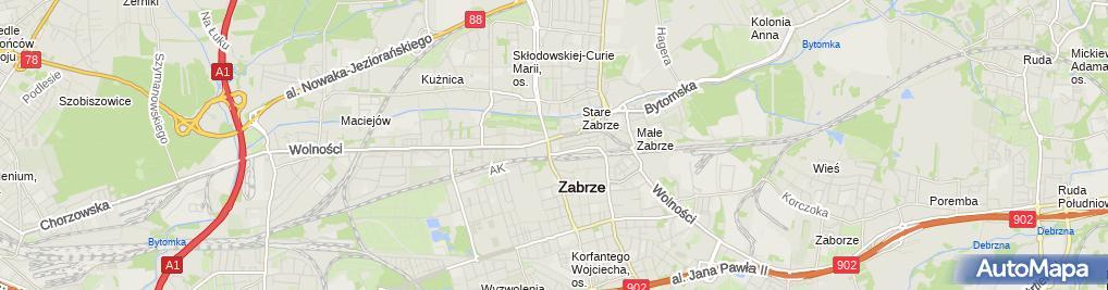 Zdjęcie satelitarne Synergia Błażej Haręza
