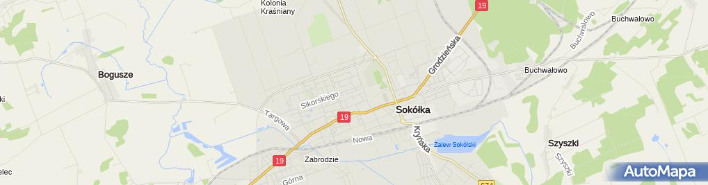 Zdjęcie satelitarne SZ & SZ Dariusz Zubrzycki Piotr Sikorski