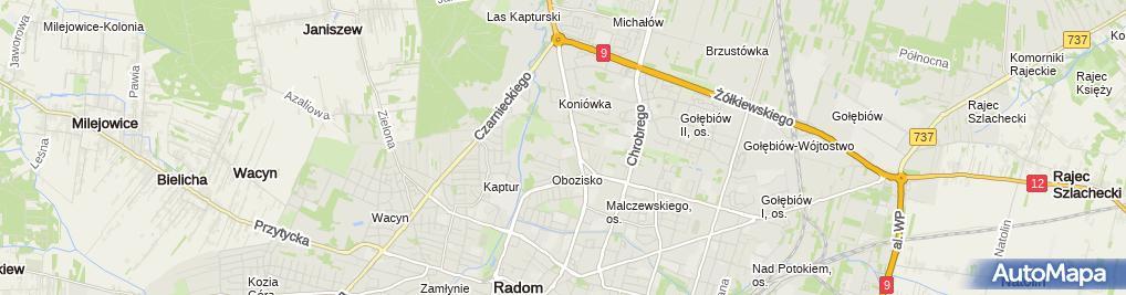 Zdjęcie satelitarne Szczepanek Wiesław Andrzej