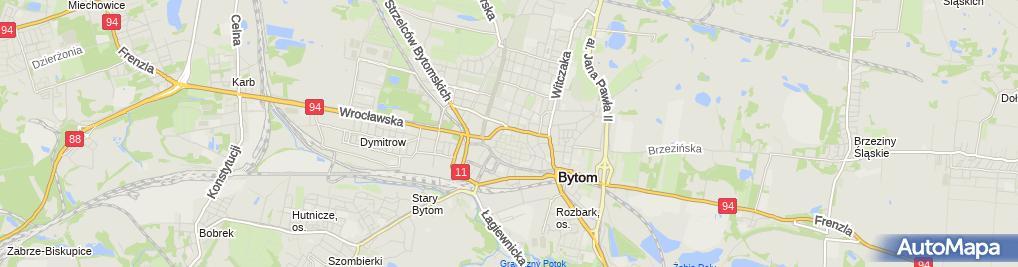 Zdjęcie satelitarne Szkoła Podstawowa nr 3 im Władysława Broniewskiego