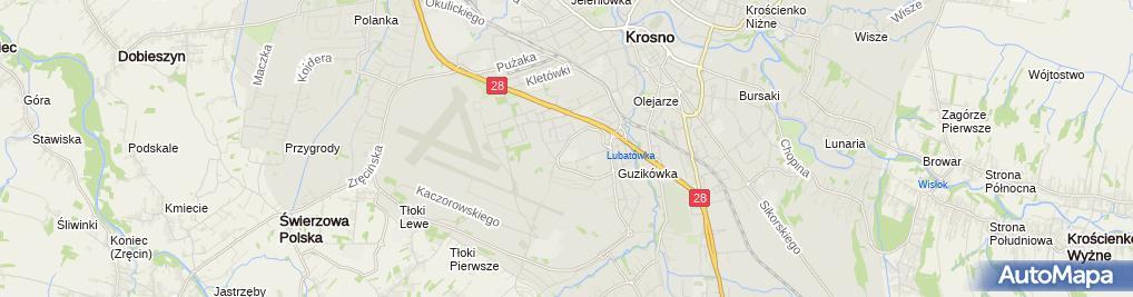 Zdjęcie satelitarne Szkolenie-Ochrona Ireneusz Sokołowski