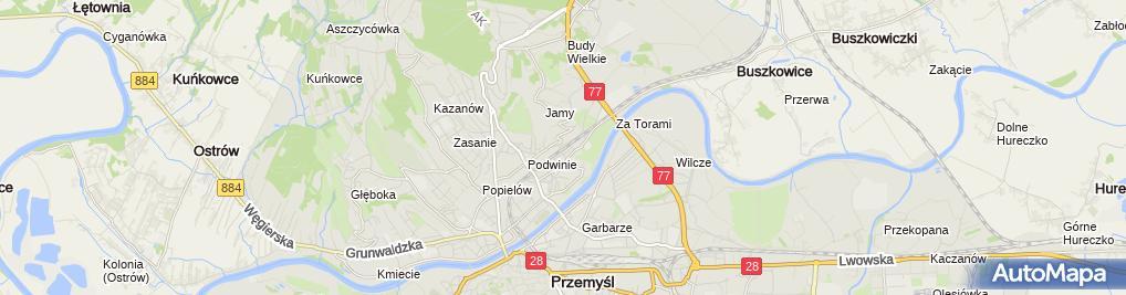 Zdjęcie satelitarne Tadeusz Strumidło Usługowo-Produkcyjny Zakład Stolarski