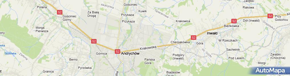 Zdjęcie satelitarne Taksówka Osobowa nr 1