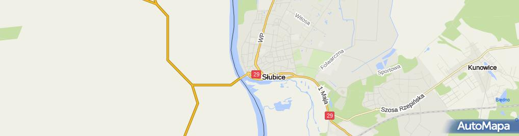 Zdjęcie satelitarne Taksówka Osobowa nr 317