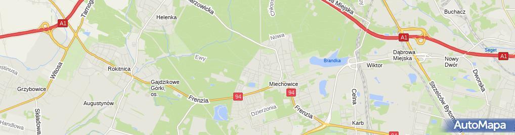 Zdjęcie satelitarne Taksówka Osobowa nr 573