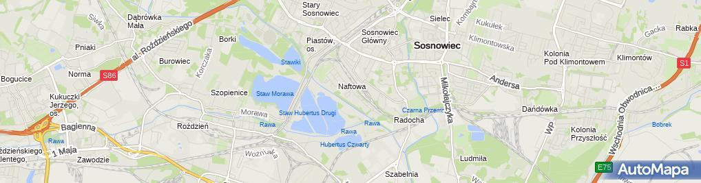 Zdjęcie satelitarne Taksówka Osobowa nr 753