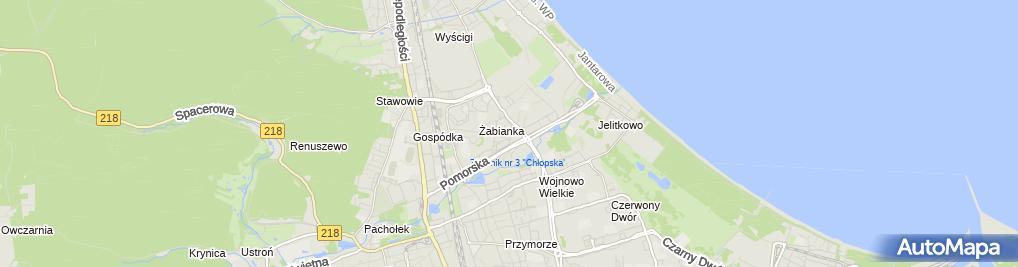 Zdjęcie satelitarne Taksówka Osobowa