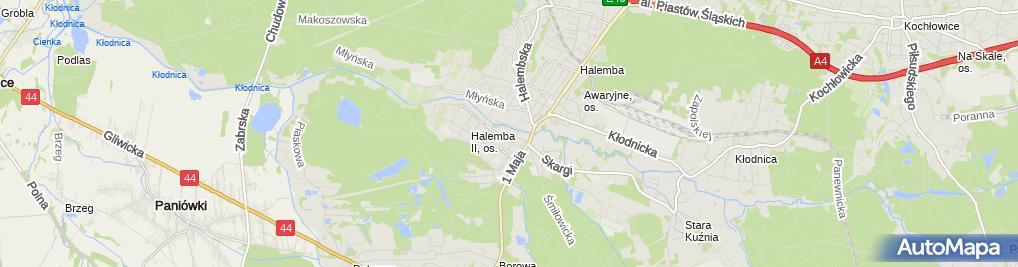 Zdjęcie satelitarne Targ Bud Czesław Dudek i Inni