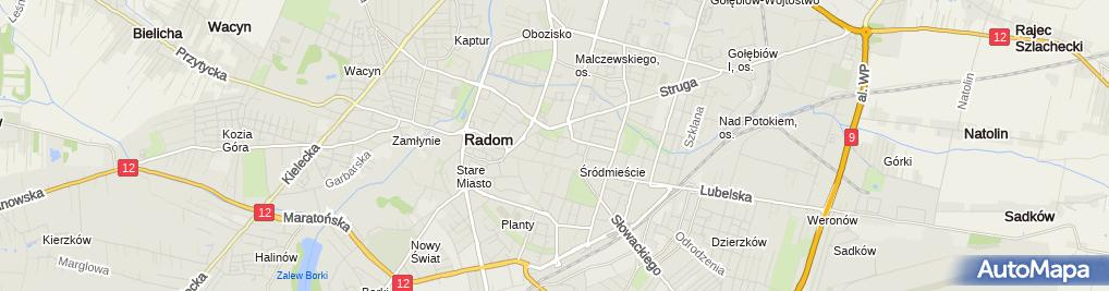 Zdjęcie satelitarne TAXBACK Przedstawicielstwo w Polsce