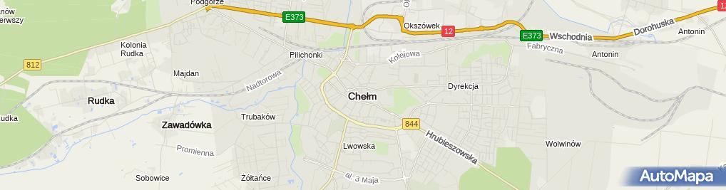 Zdjęcie satelitarne Taxi Jarosław Czerwiński