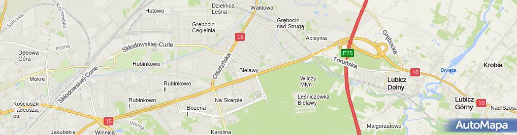 Zdjęcie satelitarne Techbud