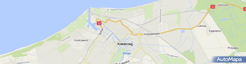 Zdjęcie satelitarne Tel Kom
