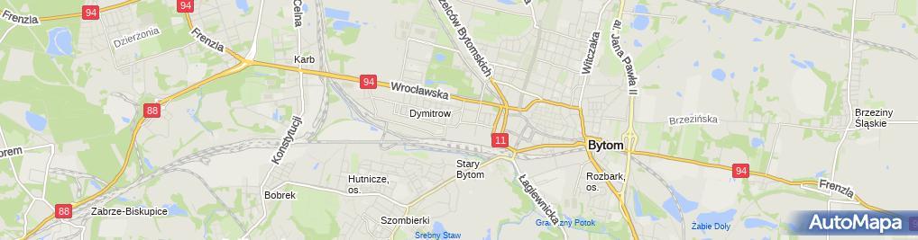 Zdjęcie satelitarne Telsport Grzegorz Kaczyński