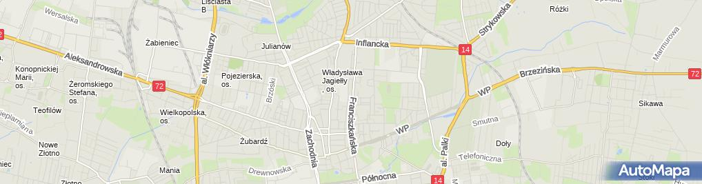 Zdjęcie satelitarne TERMO-SKLEP.PL