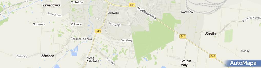 Zdjęcie satelitarne Terpiłowski Bogusław