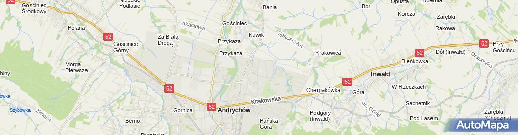Zdjęcie satelitarne Tłumaczenia i Korepetycje Bylica Krystyna