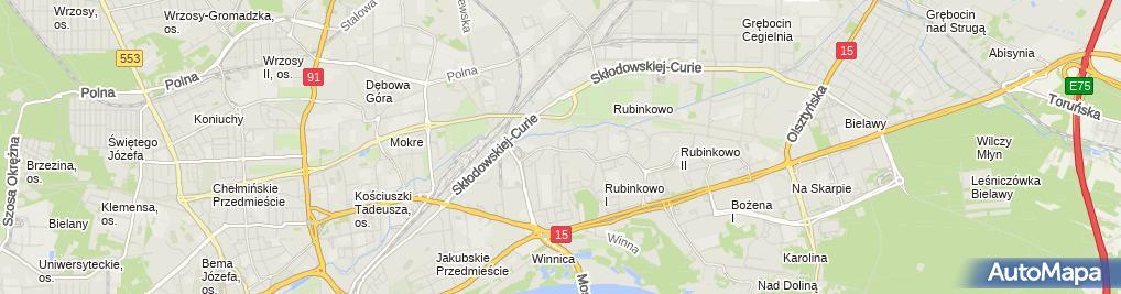 Zdjęcie satelitarne Todek Leszek Elektro Serwis Przedsiębiorstwo Usługowo Handlowe