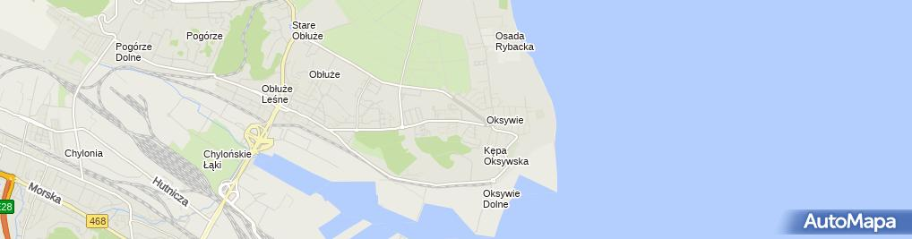 Zdjęcie satelitarne Tomasz Janiszewski Rybołówstwo Morskie