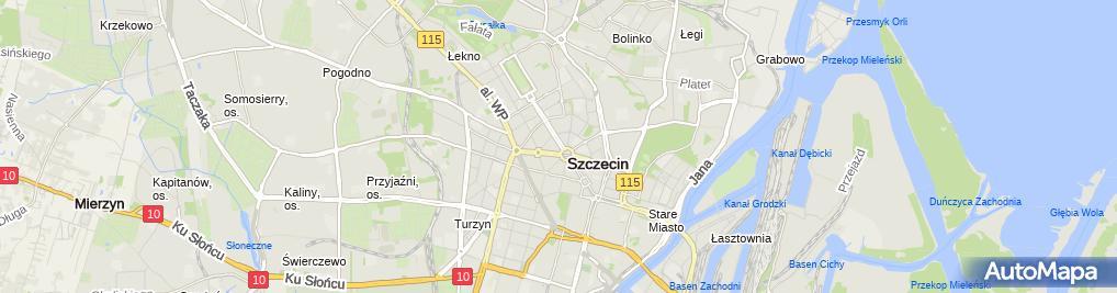 Zdjęcie satelitarne Tomasz Łubkowski