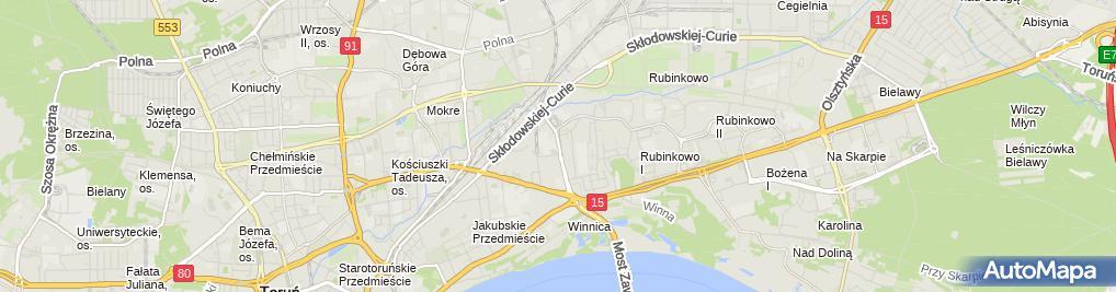 Zdjęcie satelitarne Tomasz Malcher Wibroakustyka Wibroizolacja
