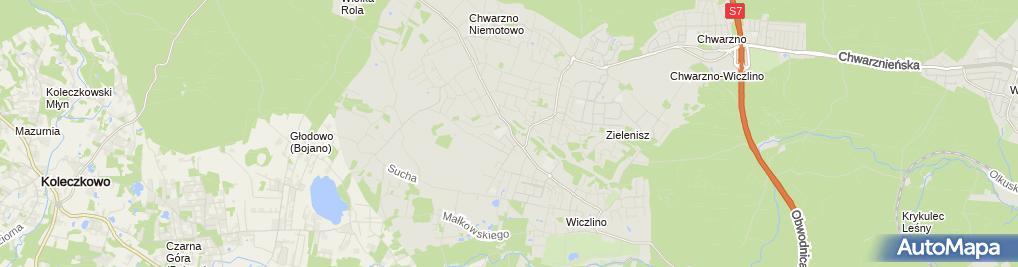 Zdjęcie satelitarne Tomasz Michałowski Essa