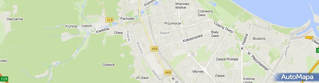 Zdjęcie satelitarne Tomasz Posiadała