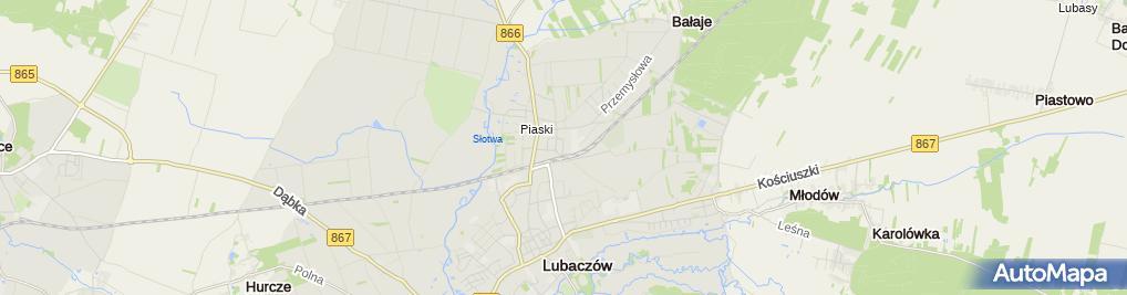 Zdjęcie satelitarne Tomasz Strykowski