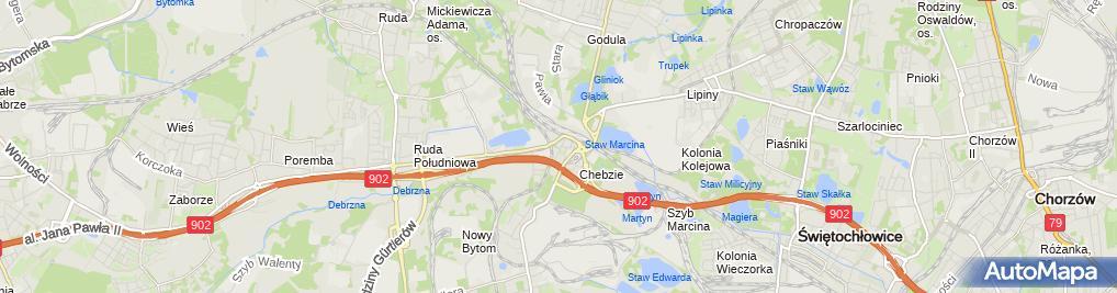 Zdjęcie satelitarne Tomasz Warkocz - Działalność Gospodarcza