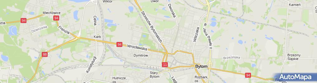 Zdjęcie satelitarne Tomasz Żelichowski Firma Handlowa Usługowa