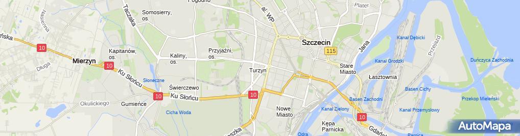 Zdjęcie satelitarne Top Ławrynowicz