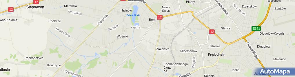 Zdjęcie satelitarne Totech