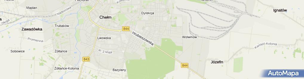 Zdjęcie satelitarne Trans-Agro Lucjan Mielniczenko