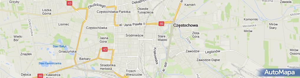 Zdjęcie satelitarne Ujma PR Konsulting Łukasz Ujma