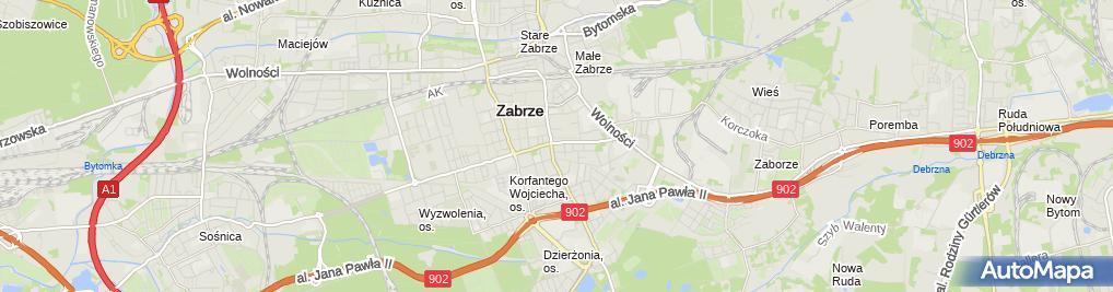 Zdjęcie satelitarne Unitel Zbigniew Rzeszutek