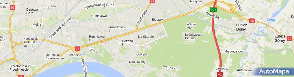 Zdjęcie satelitarne Urbanek Stanisław Usługi Mechaniczne i Elektryczne